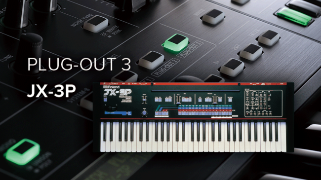 JX-3P PLUG-OUT for SYSTEM-8 Now Available!